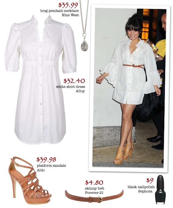 vanessa hudgens style for less. Get Vanessa Hudgens Look For